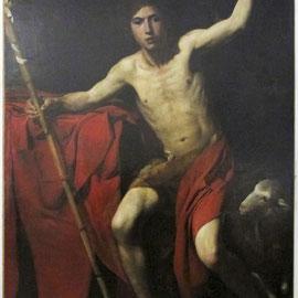 Nettoyage du tableau de Saint Jean-Baptiste avant son départ pour le Métropolitan Museum of art de New-York