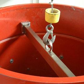 Hebebalken System Haberl, wird nur für das Heben eingehängt