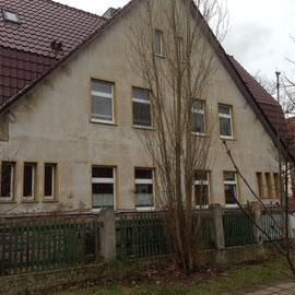 Zustand Fassade vor der Sanierung