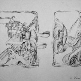 Wvz 1970 | 050 | o.T. | Serie der Laschenbilder