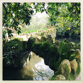 Quinta da Regaleira - Pont de pierre © Sandrine Tellier