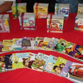 7,800 reproducciones de 24 cuentos creados por la escrtora uruguaya Rita Tabarez se le entregó a la Fundación Infantil Ronald McDonald.
