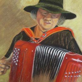 Yves et son accordéon