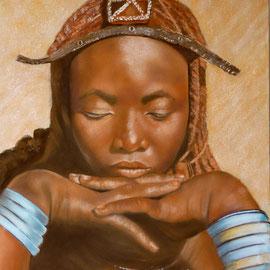 Hommage à la femme Himba