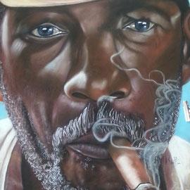 fumeur de Havanne