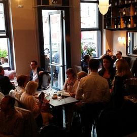 Walhofs Winebar, Frankfurt, Design, Lounge, Wine, Tappas, Stimmung Eröffnung