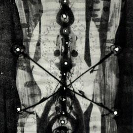 o.T. - Radierung - 32 x 16 cm - Aufl. 35 - 1966