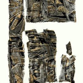 o.T.  - Lithographie - 30 x 21 cm - Aufl. 14 - 1960