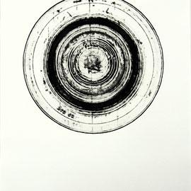 o.T.  - Décollage Imprimé - 22 x 22 cm - Aufl. 100 - 1966