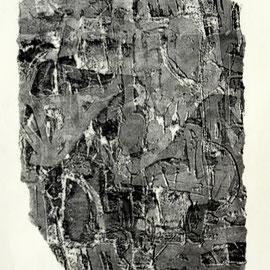 o.T.  - Lithographie - 30 x 21 cm - Aufl. 12 - 1960