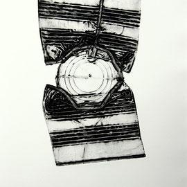 o.T  - Décollage Imprimé - 30 x 17 cm - Aufl. 100 - o.J.