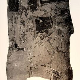 o.T.  - Lithographie - 31 x 22 cm - Aufl. 50 - 1961