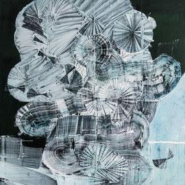 Figure 003 - 2018 - 120 x 90 cm - oil on canvas