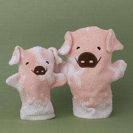 Schwein klein und gross
