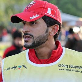 Distanzreiten in Lühmühlen - H.H.SH. Nasser B.H. Al Khalifa aus Bahrain