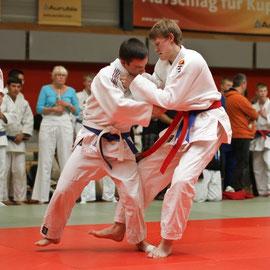HNT Judo Wanderpokal - Markus Spitzhüttl (rot) vom HNT