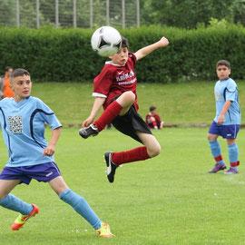 Mini-Euro-Cup - Benjamin Kasami vom SV Wilhelmsburg