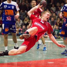 Handball - Markus Bowe (SV Beckdorf) vs. VfL Fredenbeck