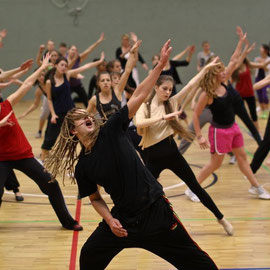 Criss Cross Tanzworkshop mit Heath Hunter beim VfL Lüneburg