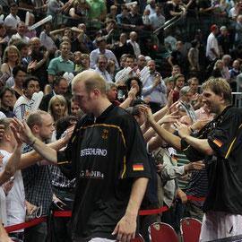 Chirs und Dirk bei ihren Fans