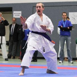 Landesmeisterschaften Kata-Einzel Masterklasse - Martin Weber (Blau-Weiss Buchholz)