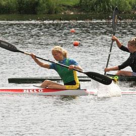 Norddeutsche Meisterschaften Kanurennsport - Ester Rahm (Harburger KC)