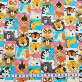 Zoo Squares pastel