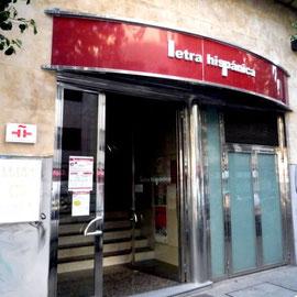Letra Hispánica-Entrada