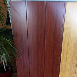 Fassadensidings 20cm - holzoptik dunkel