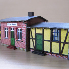 Bahnhof Eitze Hafen 1:160 (N)