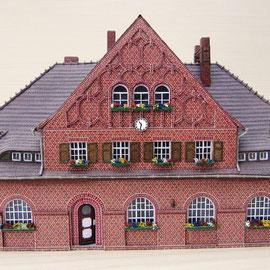(c) W. Fehse - Ziesar - Teil 1 Empfangsgebäude