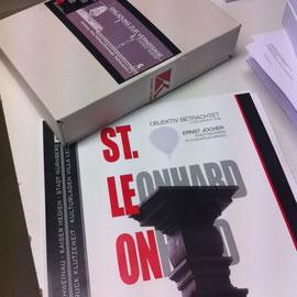 Einladung zur Vernissage: St. Leonhard Objektiv betrachtet. Einladungen und Plakate