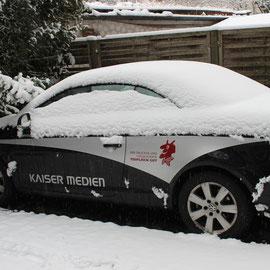 Auch im Winter.