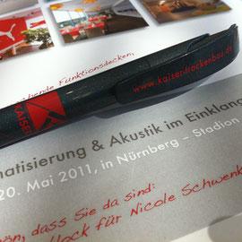 Notizblock mit Personalisiertem Umschlag. Ideal für Veranstaltungen.