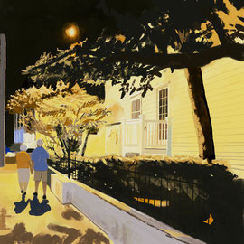〜夜の散歩〜|Promenade nocturne