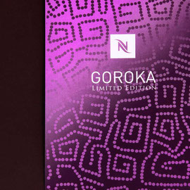 Goroka limited edition. Still life for Nespresso.