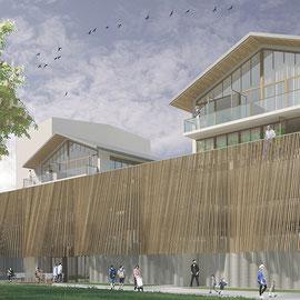 Esquisse projet habitat participatif quartier Brazza, Bordeaux