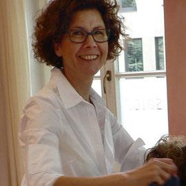 HEIKE BECKER, Friseurmeisterin und Inhaberin des Salons Heike Becker in der Villa Jacobi