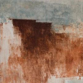 GIULIO CAMAGNI, #4, Asche, Pigmente, Acryl / Leinwand, 180x120cm, 2020 