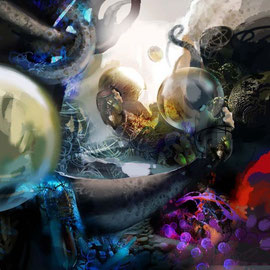 """Artwork """"GLANCE"""" 2011 by Rafael Espitia"""