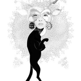 C. Collao, Pantherfrau