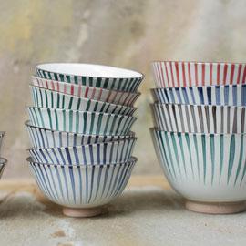 Uka stripe bowl
