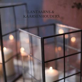 Lantaarns & kaarsenhouders
