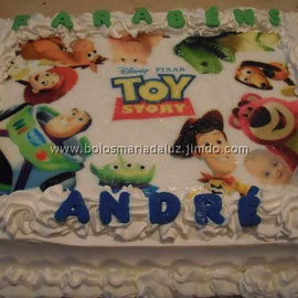 Bolo Toy Story Chantilly