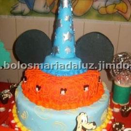 Bolo chapéu do Mickey