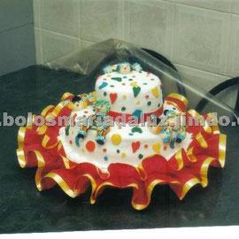 Bolo Palhaço 2 ( Pasta americana)