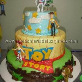 Bolo Toy Story de pasta americana