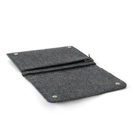 Tablet-/Dokumenten-Hülle dunkelgrau