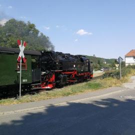 Dampflok, Schmalspurbahn, Harz, Sachsen-Anhalt