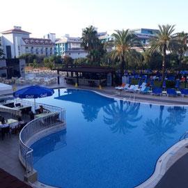 Pool, Monachus Hotel & Spa, Side, Türkei